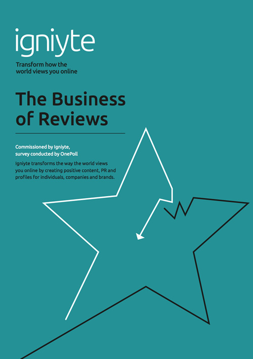 The business of reviews - Igniyte