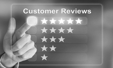 What should you do if your company receives negative feedback online?