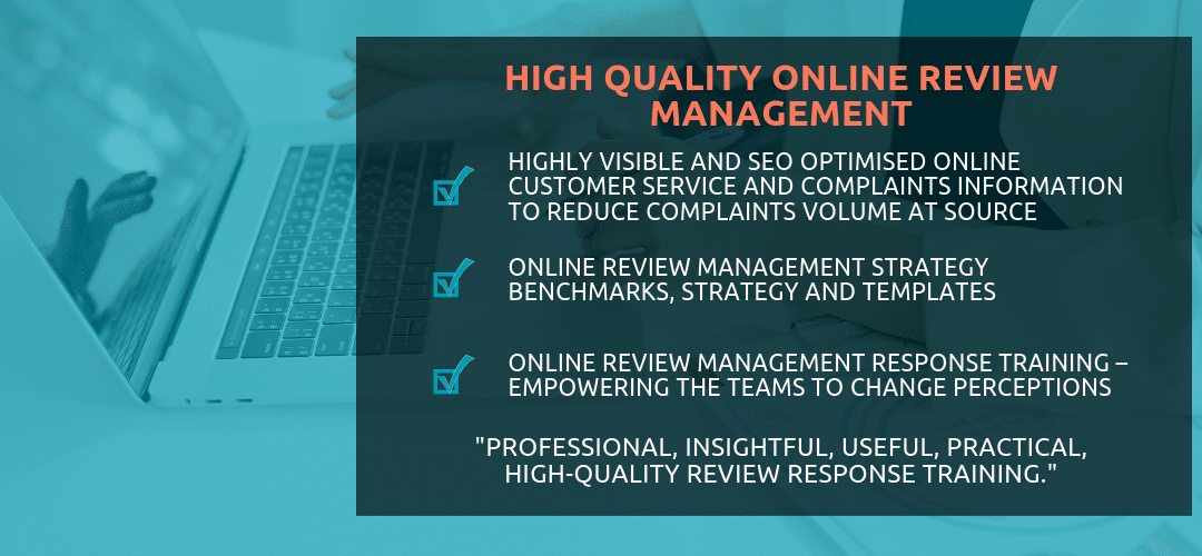 Online Review Management Training
