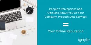 what is online reputation management - Igniyte