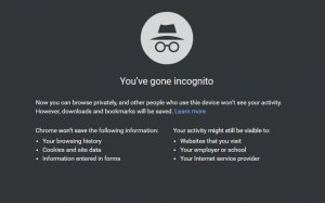 Google Incognito - Online Reputation Tools