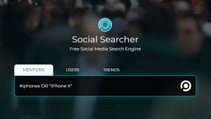 Social Searcher - Online Reputation Tools