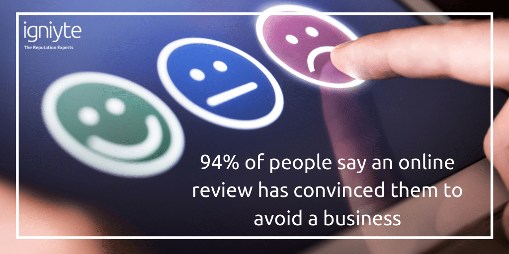 Online reviews facts and stats - Igniyte