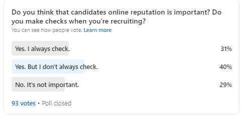 Yoono - The importance of reputation in recruitment